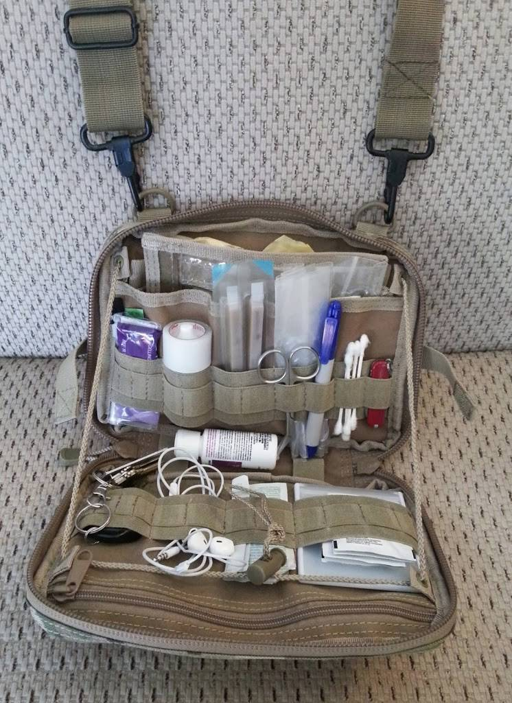 Condor Multicam T&T pouch (fully opened)