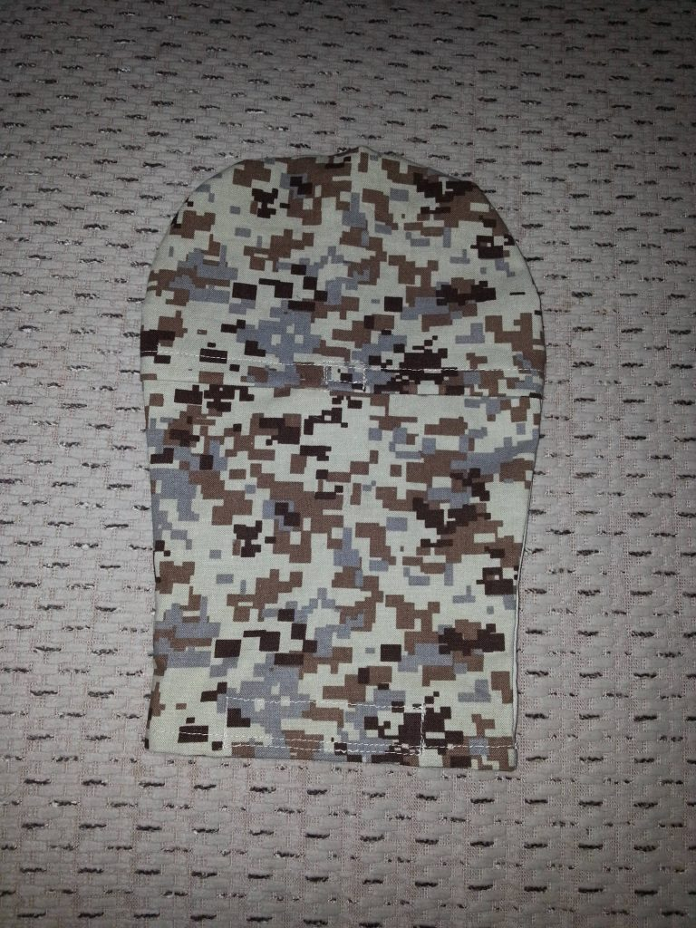 Grandmas Hands camo pouch cover front