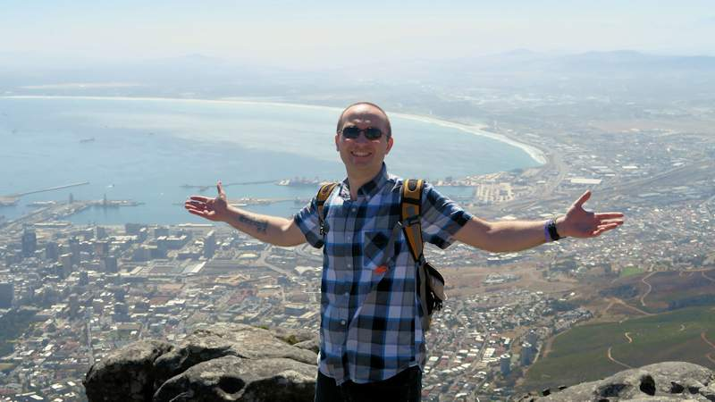 Eric over Cape Town 2016