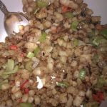 Hashbrown potatoes with mixed veg 2