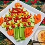 Holiday Veggie platter