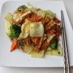 Loving hut cabbage and mixed veg