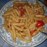 Pasta with basic sauce