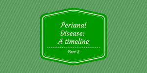 Perianal Disease timeline part 2 cover