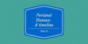 Perianal Disease timeline part 3 cover