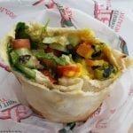Pita Pit vegan wrap