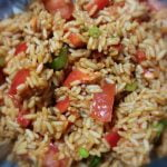Spicy rice and veg