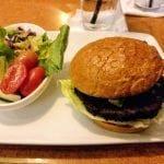 Veggie burger from a restaurant in Orlando