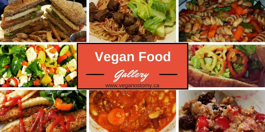 Vegan food gallery
