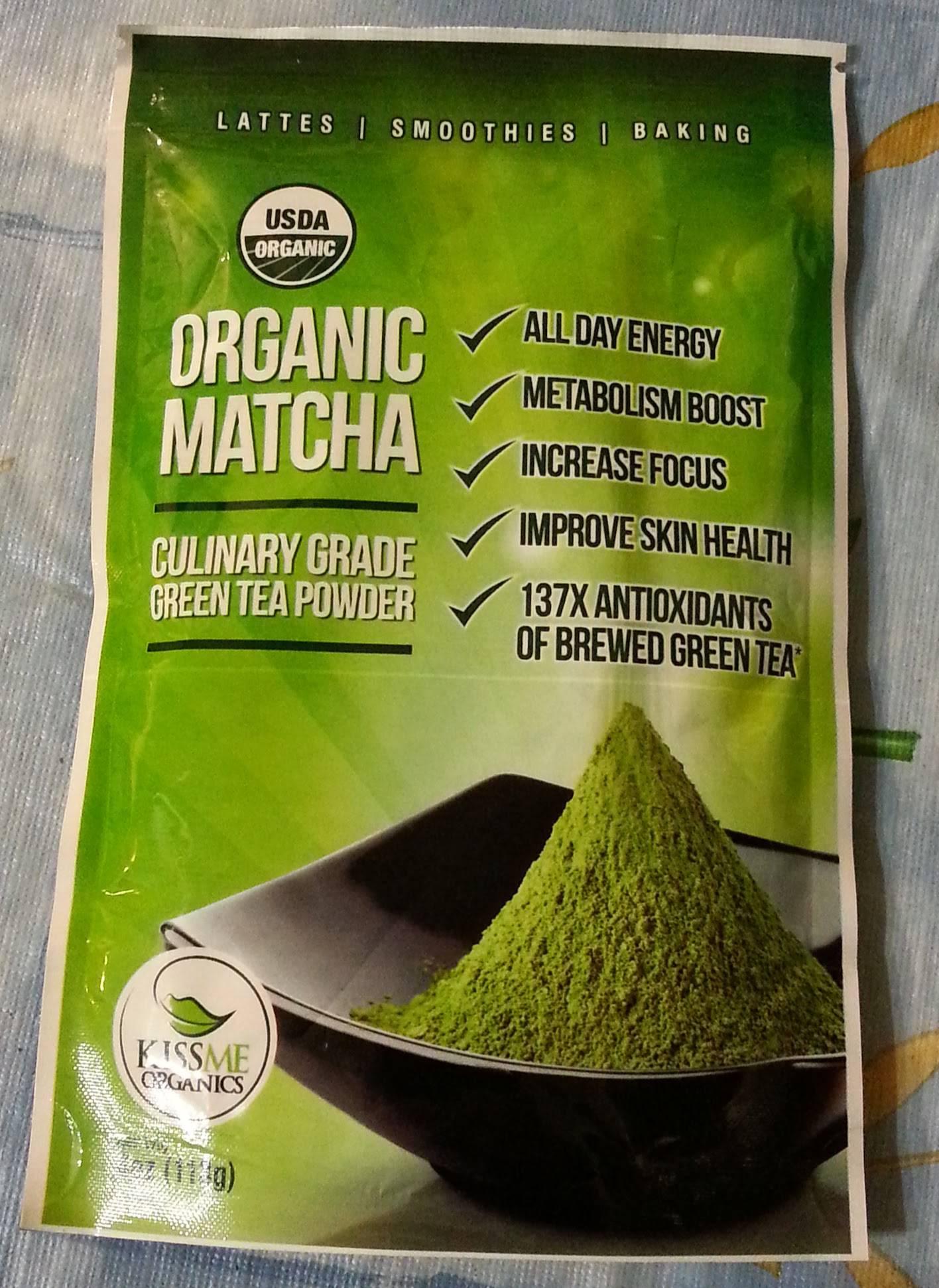 Kiss Me Organics Matcha