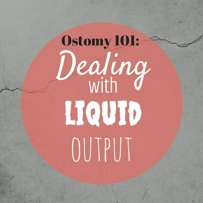 Dealing with liquid output