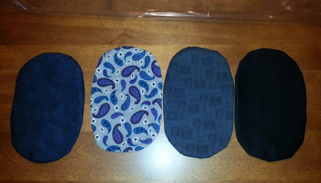 Pouch covers from PrettyLittleCurls
