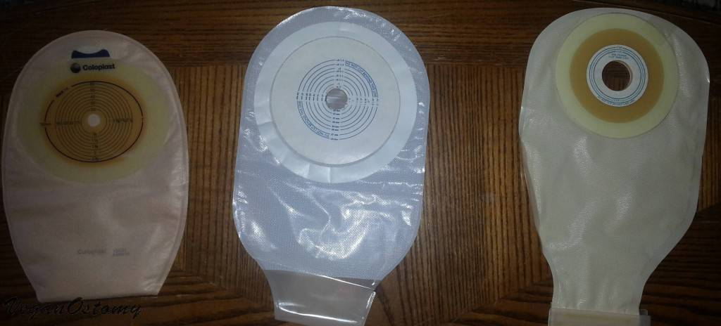 one-piece ostomy pouches