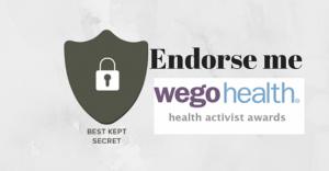 Endorse me for a WEGO Award