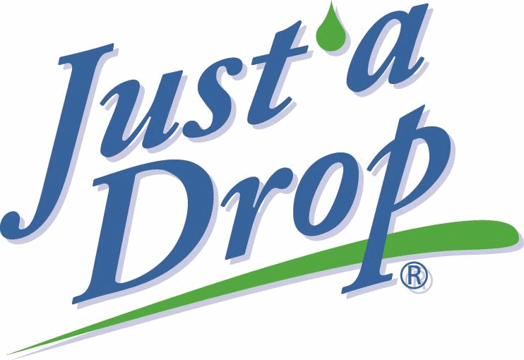 Just a drop logo