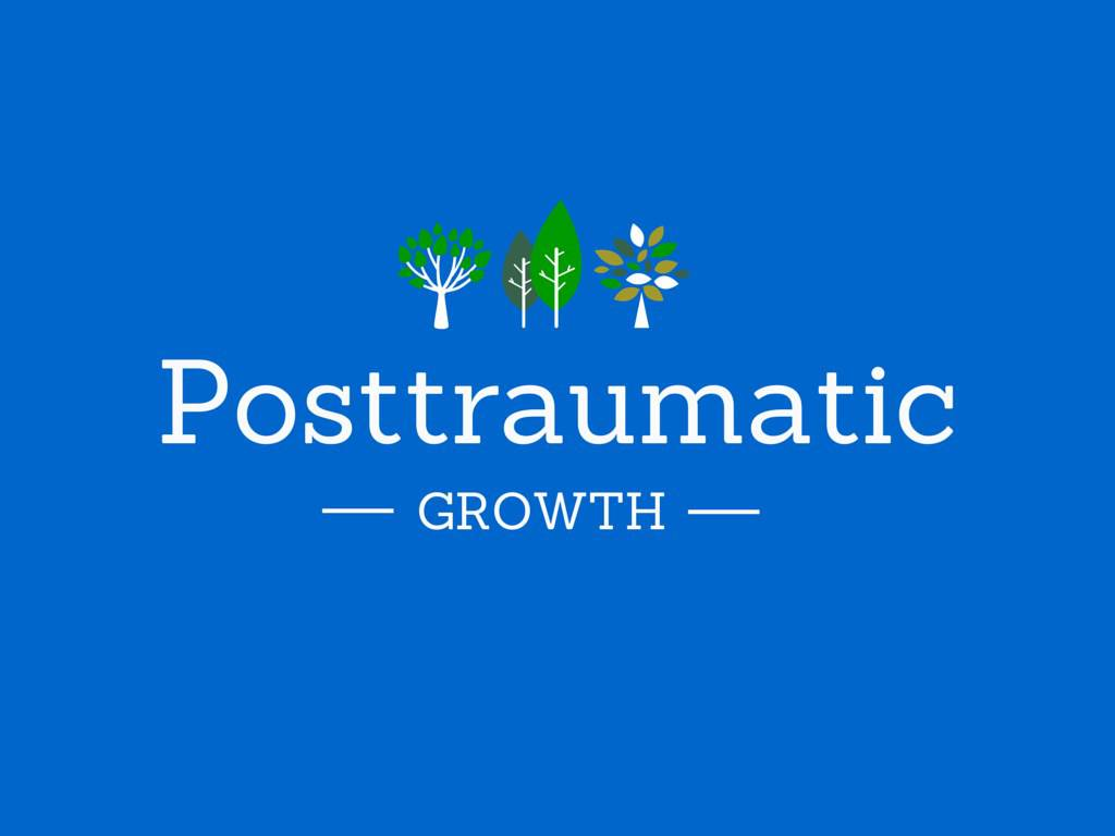 Posttraumatic growth banner
