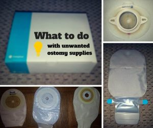 What to do with unwanted ostomy supplies