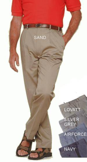 High Waisted Trousers for ostomates by White Rose Collection