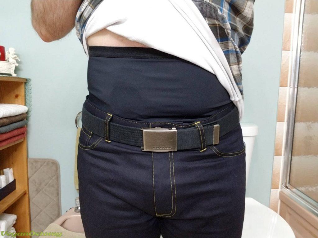 I am Denim ostomy jeans VeganOstomy-sm