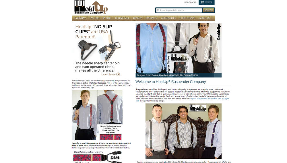 suspenders from hold up suspender co