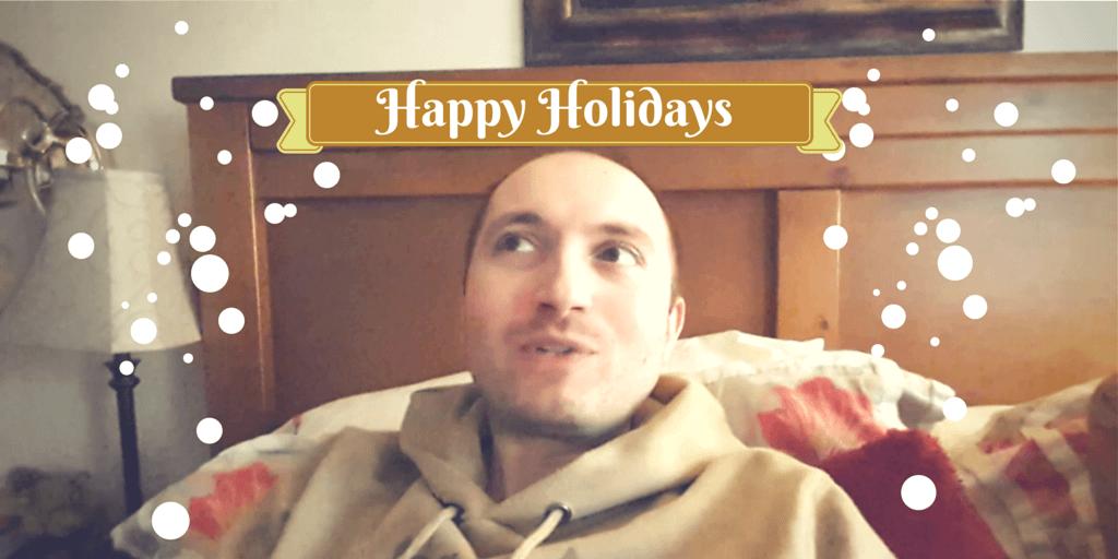 Happy Holidays from VeganOstomy