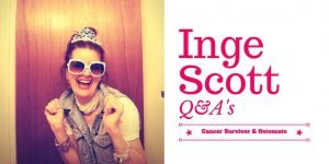 Inge Scott Cancer Survivor and ostomate