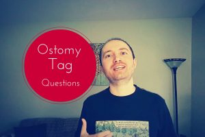 Ostomy tag header