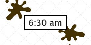 6-30am me