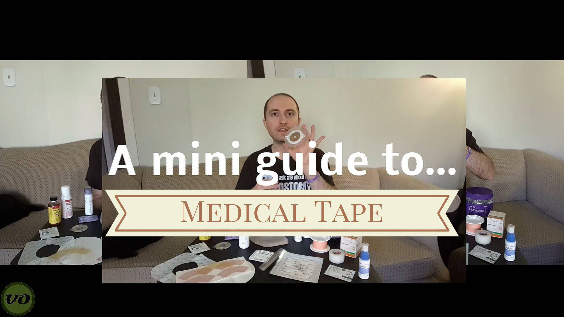 Ostomy Medical Tape