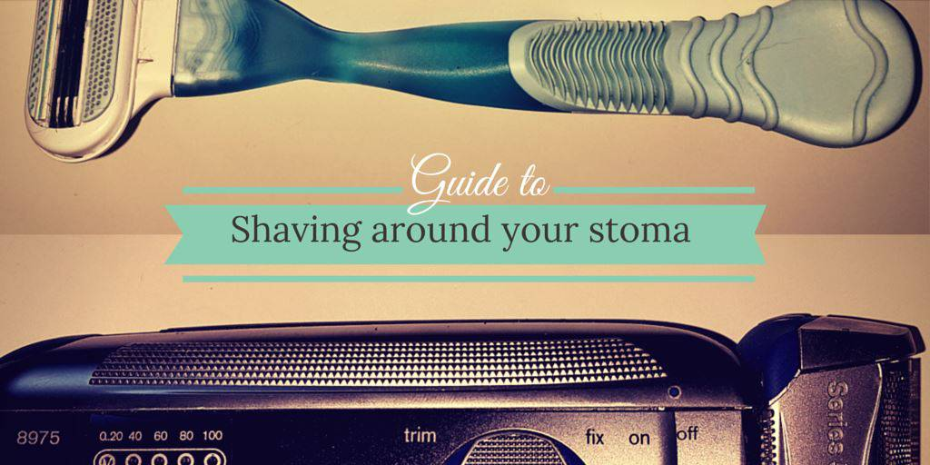 SHAVING around your stoma