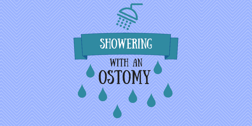 Showering with an ostomy