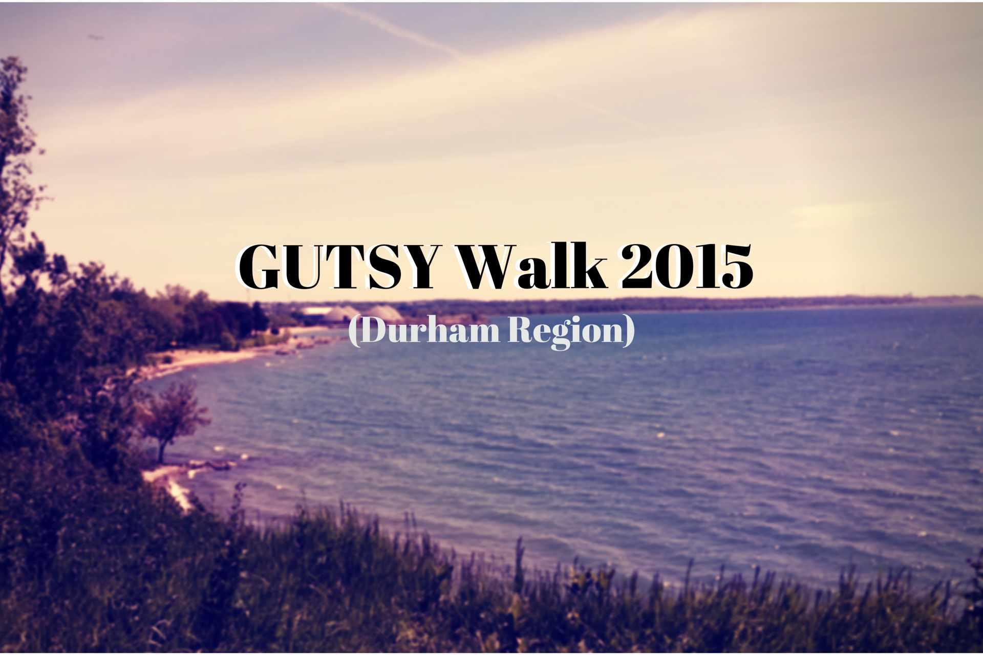 GUTSY Walk 2015Durham Region
