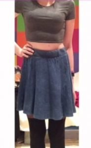 Skirt – Blue