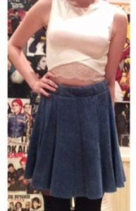 Skirt example - Bethany
