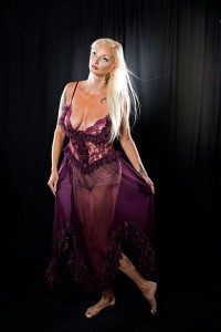 Lingerie Example – Purple