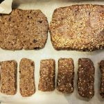 Homemade vegan Larabars / Cliff Bars
