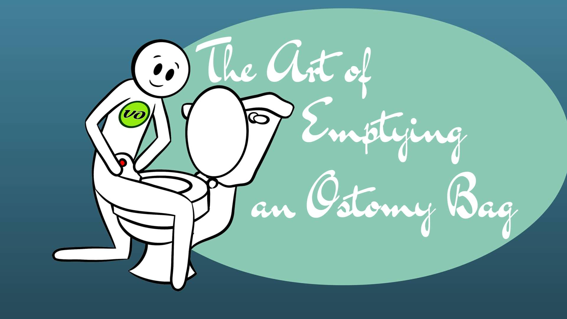 The Art of Emptying an Ostomy Bag