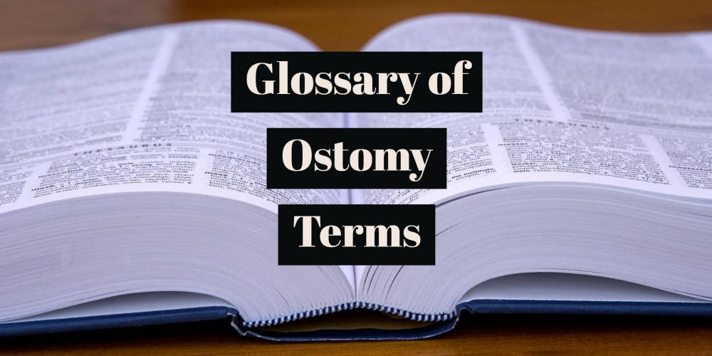 Glossary of ostomy terms header small
