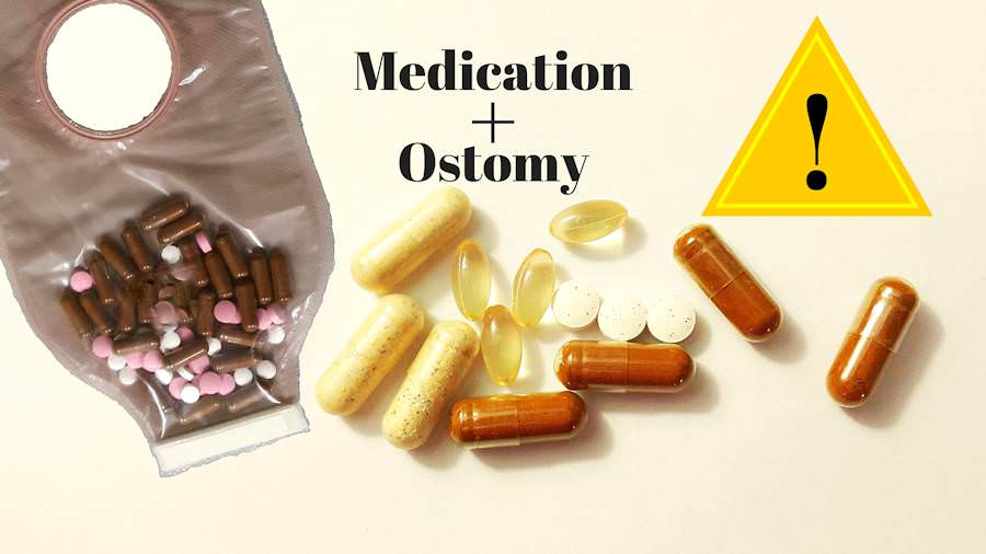 Medication and supplements with an ostomy HEADER