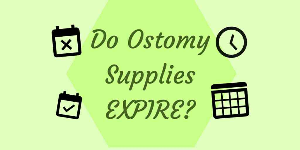 Ostomy supplies expire heading