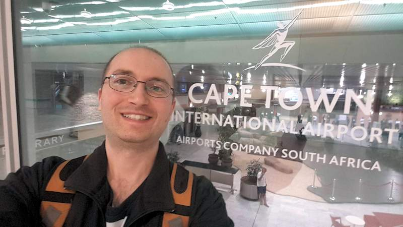 VeganOstomy Cape Town International Airport