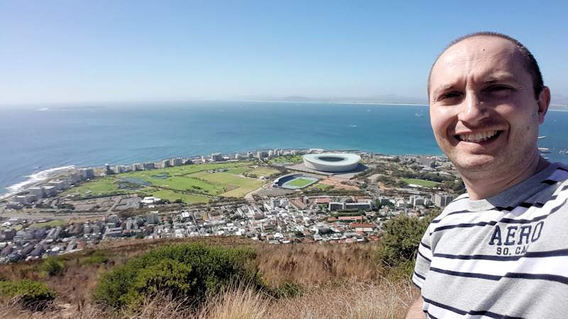 VeganOstomy Cape Town from Signal Hill