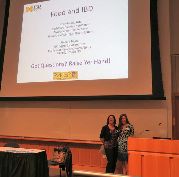 Amber Tresca and Emily Haller Food and IBD presentation