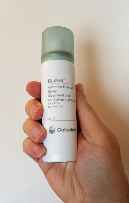 Coloplast Brava Adhesive Removal spray size
