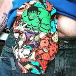 Marvel characters ostomy bag