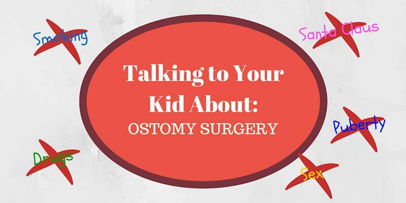 Talking to your kids about ostomy surgery header