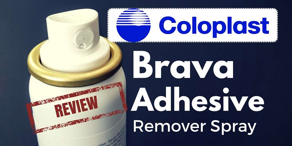 Coloplast brava adhesive remover spray review