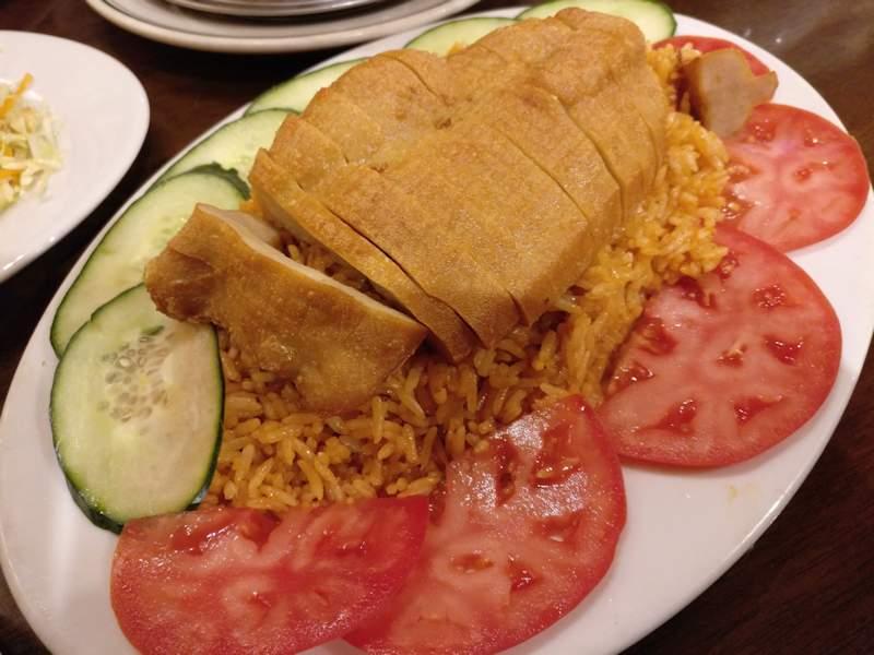 paradise-vegetarian-vegan-chicken-and-red-rice