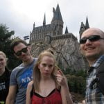 group-selfie-harry-potter-world-universal-orlando