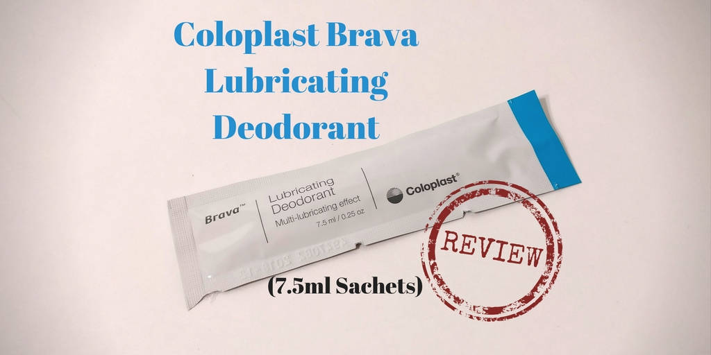 Coloplast Brava Lubricating Deodorant sachets